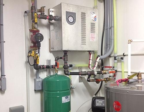chauffe eau installation